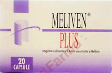 Meliven Plus integratore capsule 20 cps